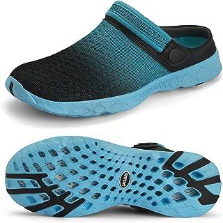 SAGUARO أحذية شبكية سريعة الجفاف للرجال والنساء أحذية رياضية للمشي في الهواء الطلق أحذية رياضية زرقاء سماوي