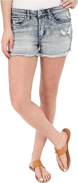 Blank NYC - High Rise Denim Distressed Shorts