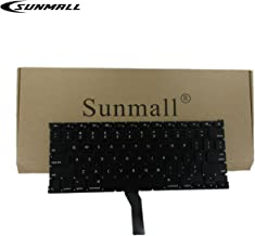 A1466 Keyboard,SUNMALL Keyboard Replacement for Apple MacBook Air 13