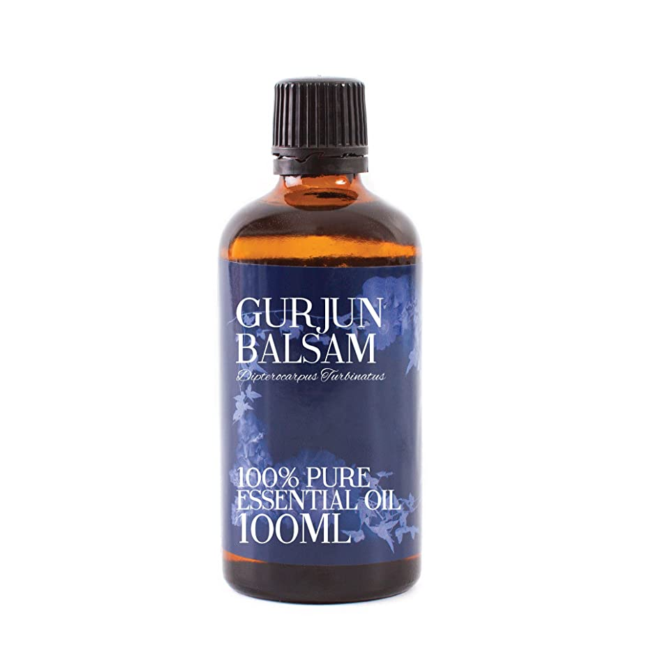 ささいな局毛皮Mystic Moments | Gurjun Balsam Essential Oil - 100ml - 100% Pure