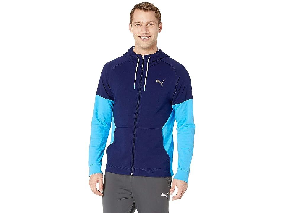 PUMA A.C.E. Fleece Jacket (Peacoat) Men