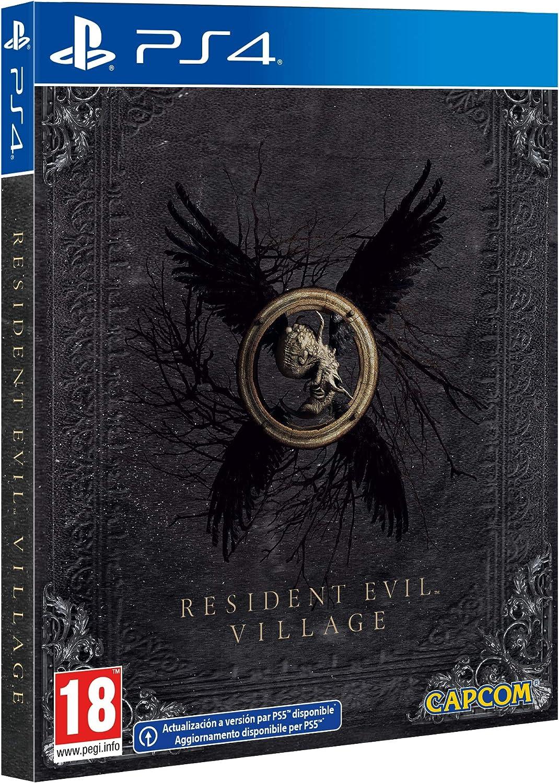 resident evil village steelbook ps4