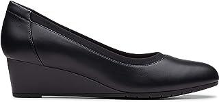 Clarks Heel Shoe for Women , Size 4.5 UK , Black