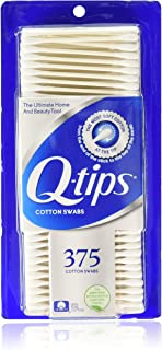 Q-Tips Cotton Swabs 375 Count (3 Pack)