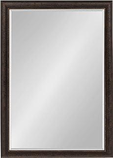 Kate and Laurel Aldridge Framed Wall Mirror, 28x40, Bronze