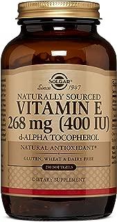 Vitamin E 268 MG (400 IU) Alpha Softgels - 250 Count