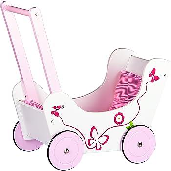 Rose Blanc Bayer Design- Landau pour Poup/ée 52403AA Poussette Chariot De Marche