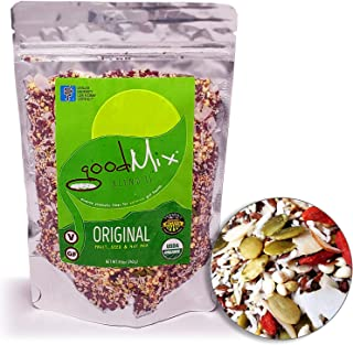 Blend 11 - Low FODMAP Certified / IBS Relief Organic High Fiber Cereal - goodMix Superfoods - 8.5 oz resealable pack