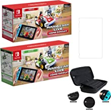 Nintendo 2020 Newest - Mario Kart Live: Home Circuit - Mario Set and Luigi Set Edition - Family Christmas Holiday Gaming f...