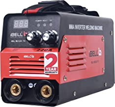 iBELL Inverter ARC Welding Machine (IGBT) 220A with Hot Start, Anti-Stick Functions, Arc Force Control - 2 Year Warranty
