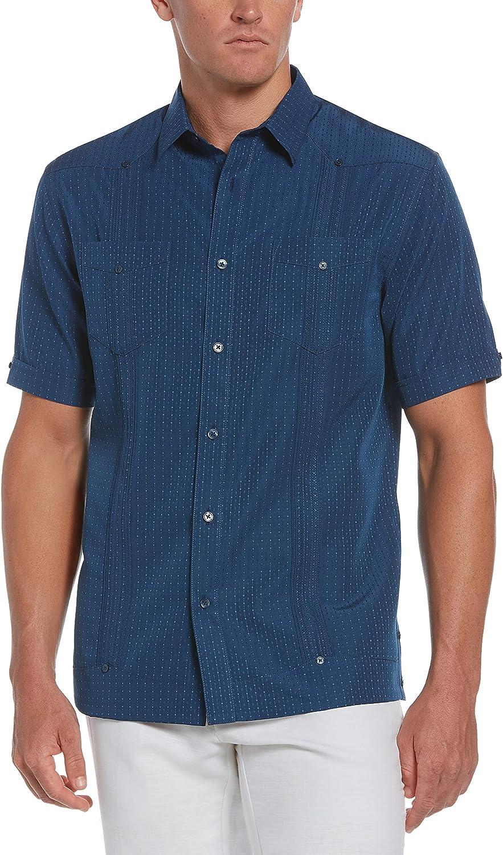 Cubavera Men's Standard Short Sleeve T/Rt Eco Select Guayabera Shirt