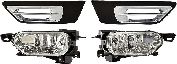 Spec-D Tuning LF-CRV02COEM-WJ Honda Crv Ex Lx Cr-V Clear Fog Lights Lamps, Switch, Harness