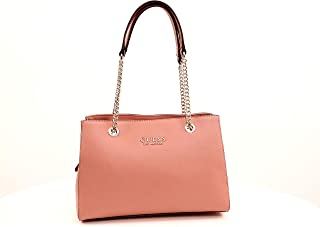Guess Kelsey Small Shopper Pink en cuir synthétique: Amazon