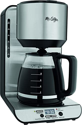 popular Mr. Coffee 12-Cup high quality Programmable Coffeemaker, wholesale Stainless BVMC-FBX39,Black online sale