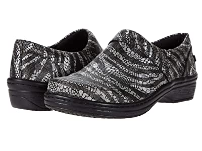 Klogs Footwear Mission (Silver Zebra) Women
