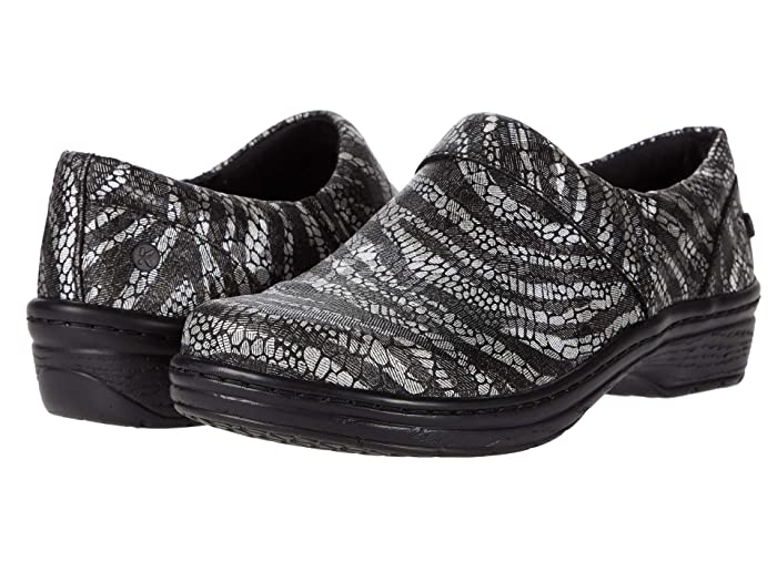 Klogs Footwear  Mission (Silver Zebra) Womens Clog Shoes