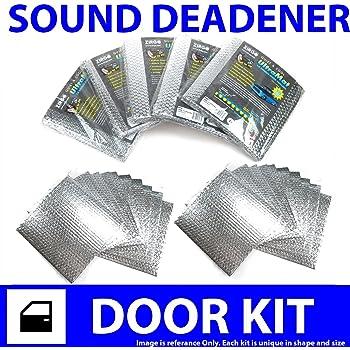 Zirgo 313818 Heat and Sound Deadener for 74-85 IH ~ 2 Door Kit