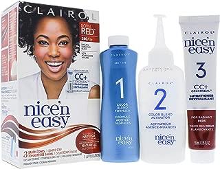 Clairol Nice N Easy Permanent Color for Women 1 Application Hair Color, 2bg 126 Natural Burgundy Black