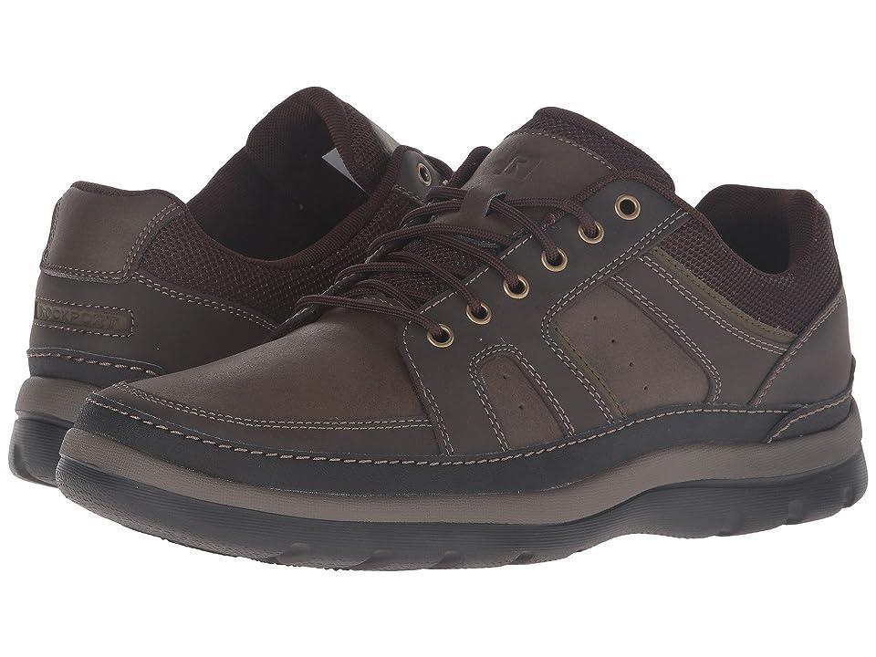 Rockport Get Your Kicks Mudguard (Dark Brown Leather) Men