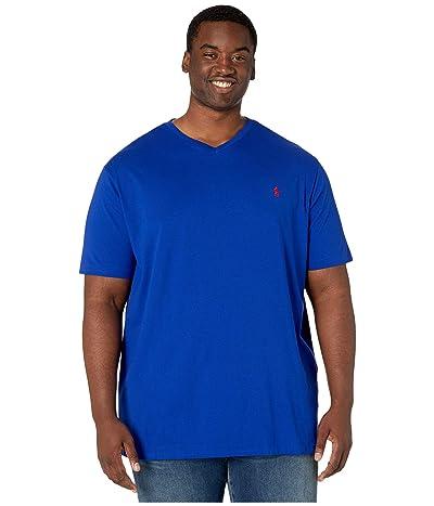 Polo Ralph Lauren Big & Tall Short Sleeve V-Neck T-Shirt (Heritage Royal) Men