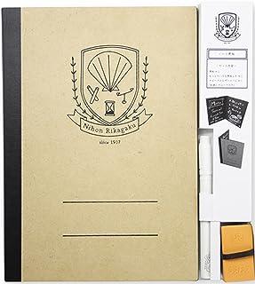 BrandName Rikagaku (Kitpas) Notebook Blackboard, Black, 1 Size