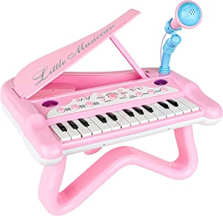 ToyVelt Toy Piano for Toddler Girls – Cute Piano for Kids