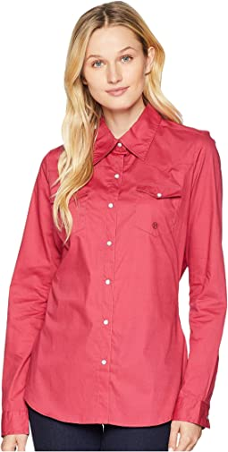 1691 Solid Poplin - Red