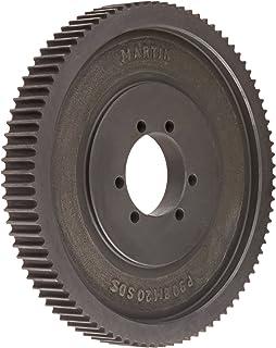 Martin High Torque Sprocket, QD Bushed, Single Strand, For N Bushing, 20mm Pitch, 192 Teeth, 152.4mm Max Bore Dia., 282.42...
