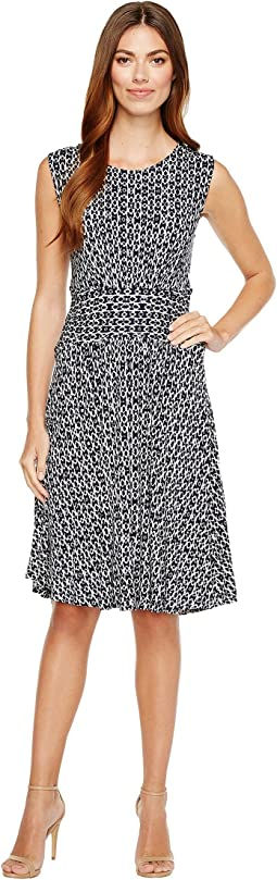B Collection by Bobeau - Knit Fit & Flare Dress