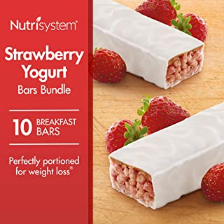 Nutrisystem® Strawberry Yogurt Bars Bundle, 10 Count Bars