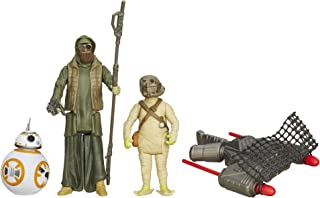 Star Wars The Force Awakens 3.75-Inch Desert Mission BB-8 and Unkar's Thug Figure (Pack of 3)