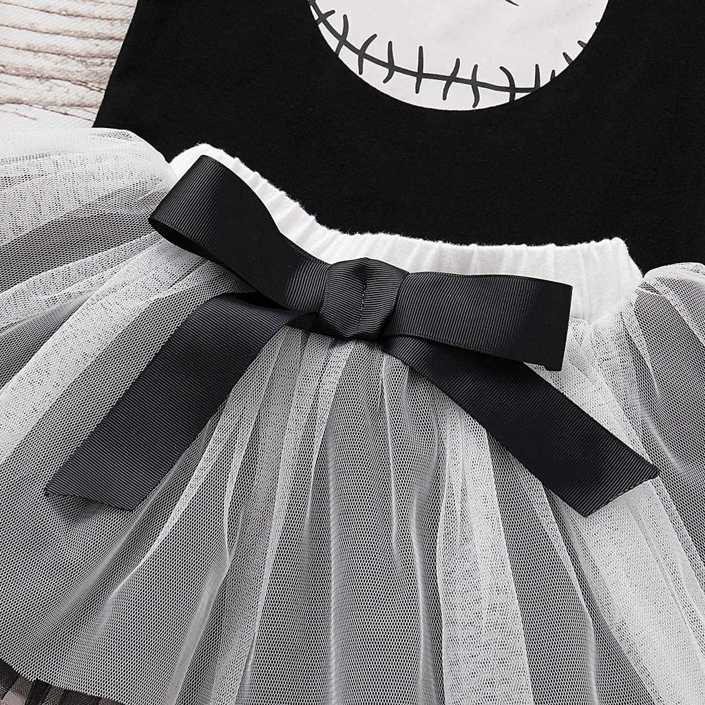 K-Youth Conjuntos Ni/ña 0 a 24 Meses Ofertas Halloween Traje Bautizo Recien Nacido Vestidos Bebe Nina Fiesta Peleles Bebe Ni/ña Mono Beb/é Mameluco y Falda Tutu Ni/ña Invierno Oto/ño