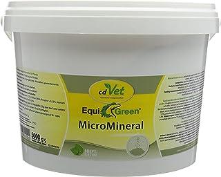 cdVet Naturprodukte EquiGreen MicroMineral - Pferd - Mikronährstoffversorgung - Vitamin, Mineralstoff- und Spurenelementgeber - Wachstum - Stoffwechselprobleme - Hufprobleme - Entgiftung -