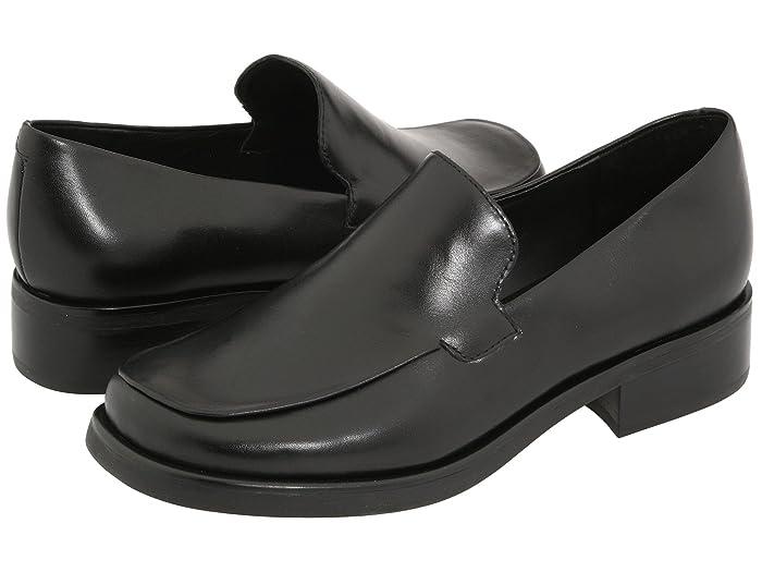 Franco Sarto  Bocca (Black Calf) Womens Flat Shoes