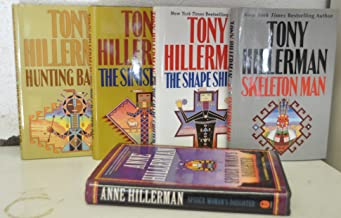 Tony Hillerman Audio Cassette Set of 5 - A Thief of Time / Skinwalker / The Blessing Way / Talking God / Coyote Waits