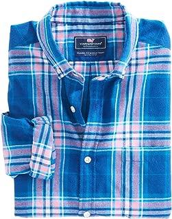 Vineyard Vines Men's Point Lobos Plaid Performance Flannel Classic Murray Shirt