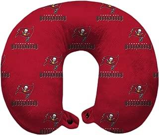 Pegasus Sports NFL Tampa Bay Buccaneers U-Neck Polyester Travel Pillow
