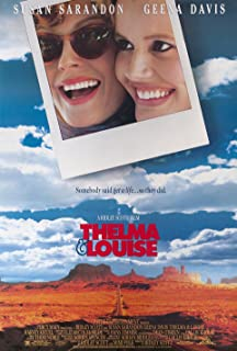 Thelma & Louise 1991 U.S. One Sheet Poster