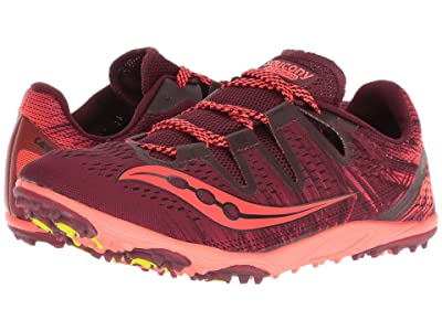 Saucony Carrera XC3 Flat (Berry/Vizi Red) Women