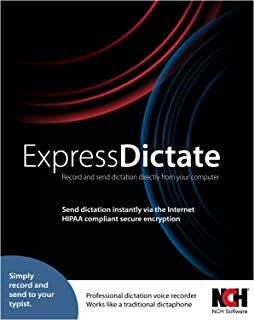 Express Dictate Digital Dictation Software - Record and Send Dictation to Typist [Download]