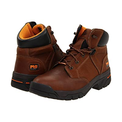 Timberland Helix 6 Waterproof Soft Toe (Brown) Men