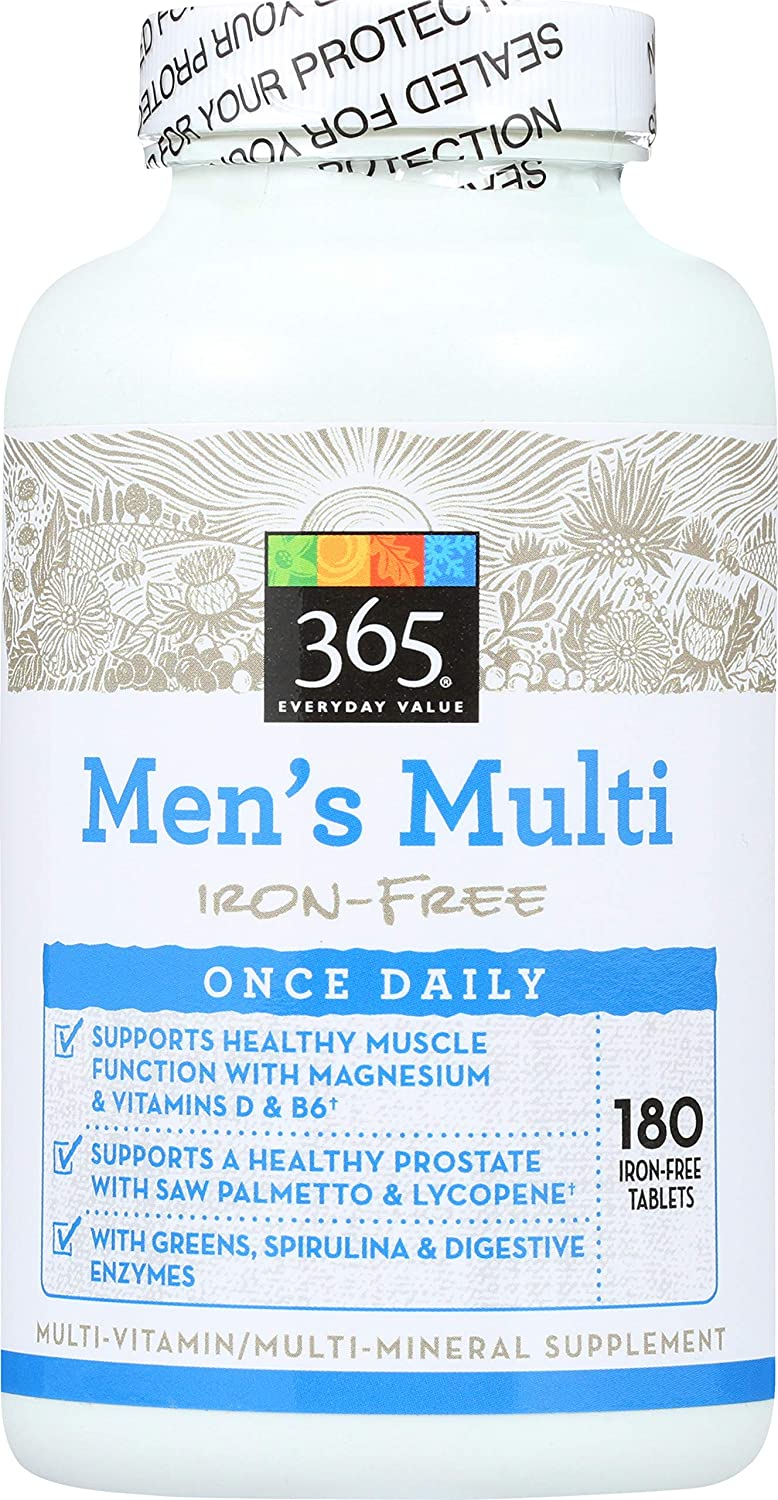 Miami Mall 365 by Miami Mall Whole Foods Market Multi One Tablets Mens 180 Daily