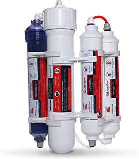 LiquaGen Portable Aquarium-Countertop Reverse Osmosis Water Filter System-DI/RO : 4 Stage System Membrane
