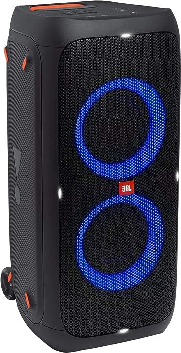 Cassa altoparlante impermeabile ipx4 per feste, ingresso per microfono e chitarra, usb, wifi bluet partybox310 JBLPARTYBOX310EU
