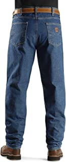 Men's Relaxed Fit Tapered Leg Jean Darkstone 48 32