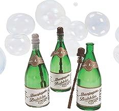 Mini Champagne Bottle Bubbles - 48 Pack
