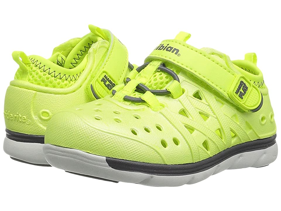 Stride Rite Made 2 Play Phibian (Toddler/Little Kid/Big Kid) (Citron Metallic) Kids Shoes