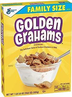 Golden Grahams Cereal, Graham Cracker Taste, Whole Grain, 19.6 oz