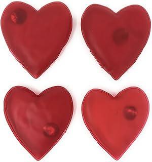 4 x Taschenwärmer Rentier Herzform Handwarmers Handwärmer Heizkissen Wärmekissen