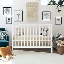 Signature Sleep Signature Sleep Honest Natural Wool Crib Mattress with Organic Cotton, Latex Infused Coconut Fibers & Bonus Waterproof Cover, Made in USA, Beige, Crib & Toddler Mattress